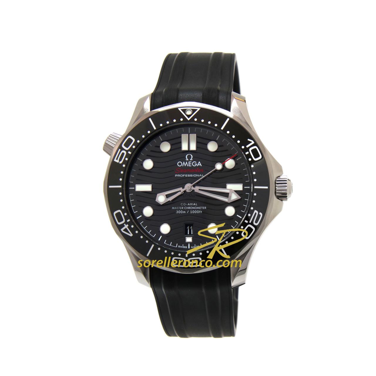 Seamaster Diver 300 Ceramica Nero