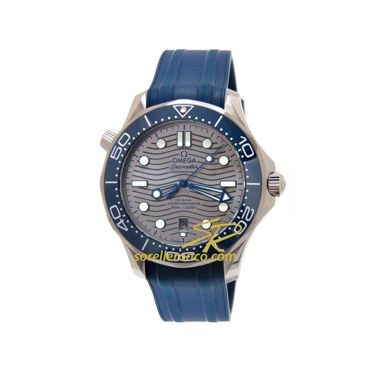 Seamaster Diver 300 Rodio Automatico Co-Axial