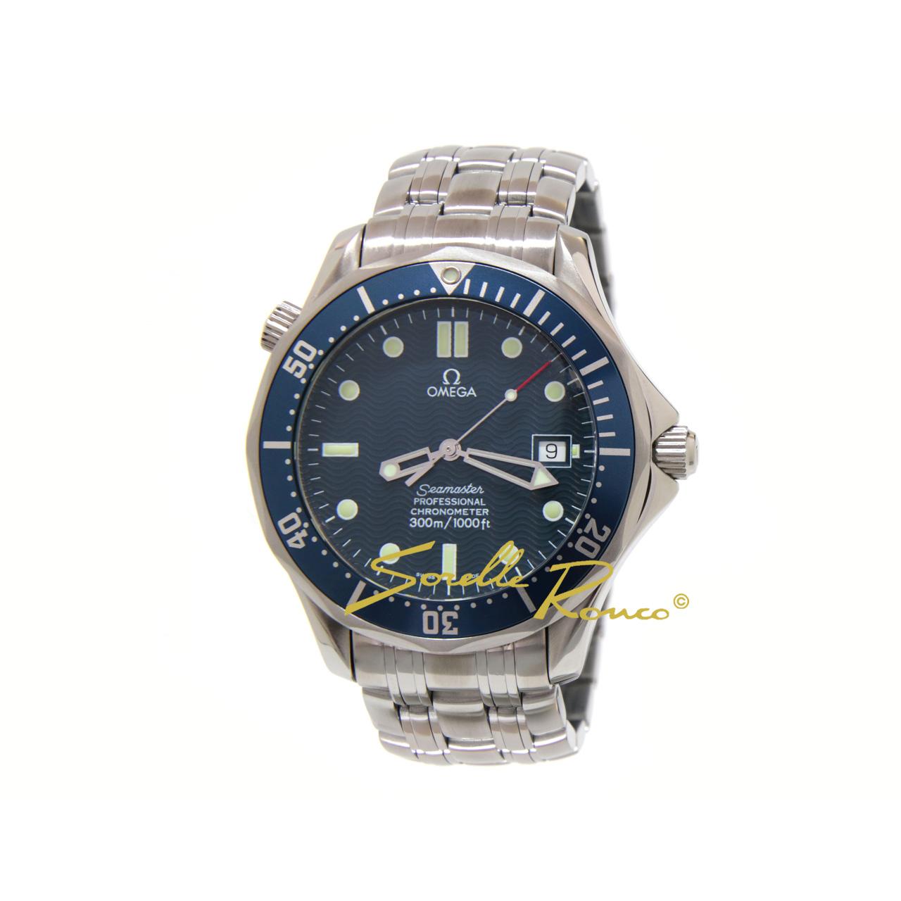 Seamaster 300m Blu Automatico Prima Serie