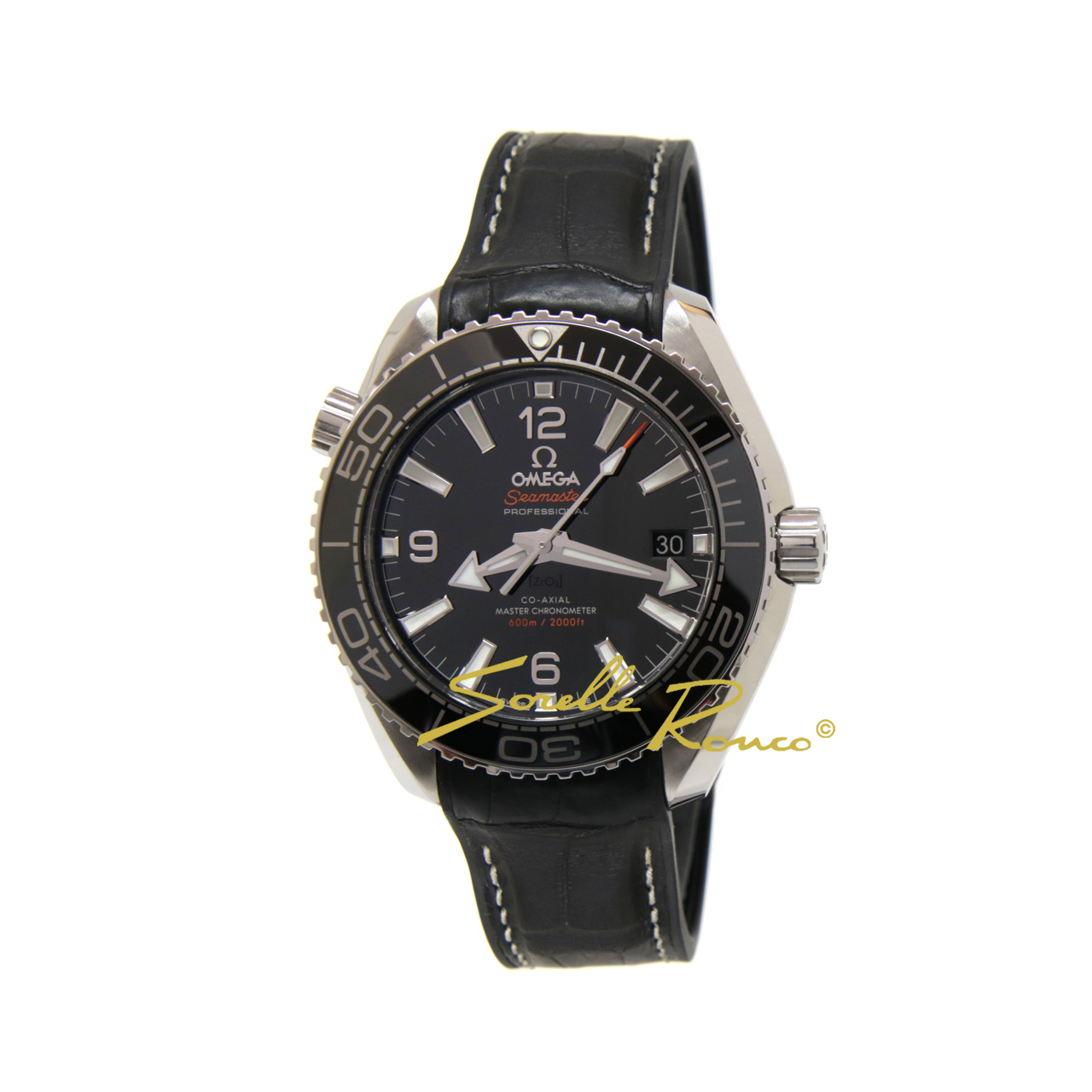 Seamaster Planet Ocean 600M CO-AXIAL 39.5mm Nero
