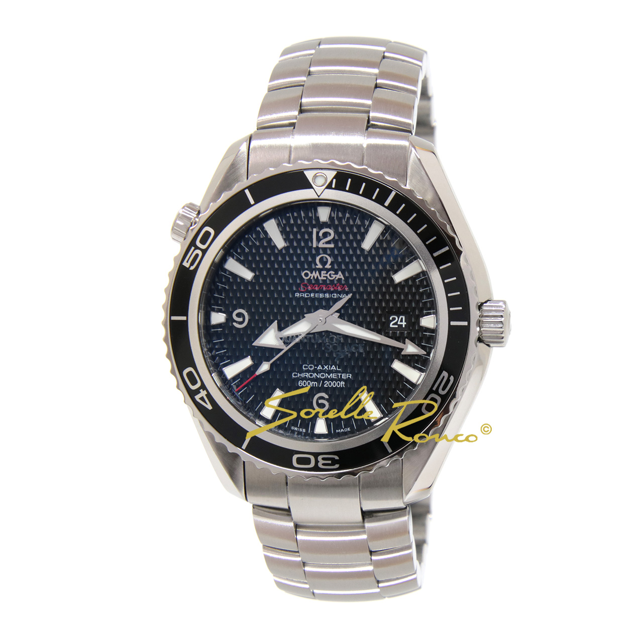 Seamaster Planet Ocean Quantum of Solace 007 Limited Edition