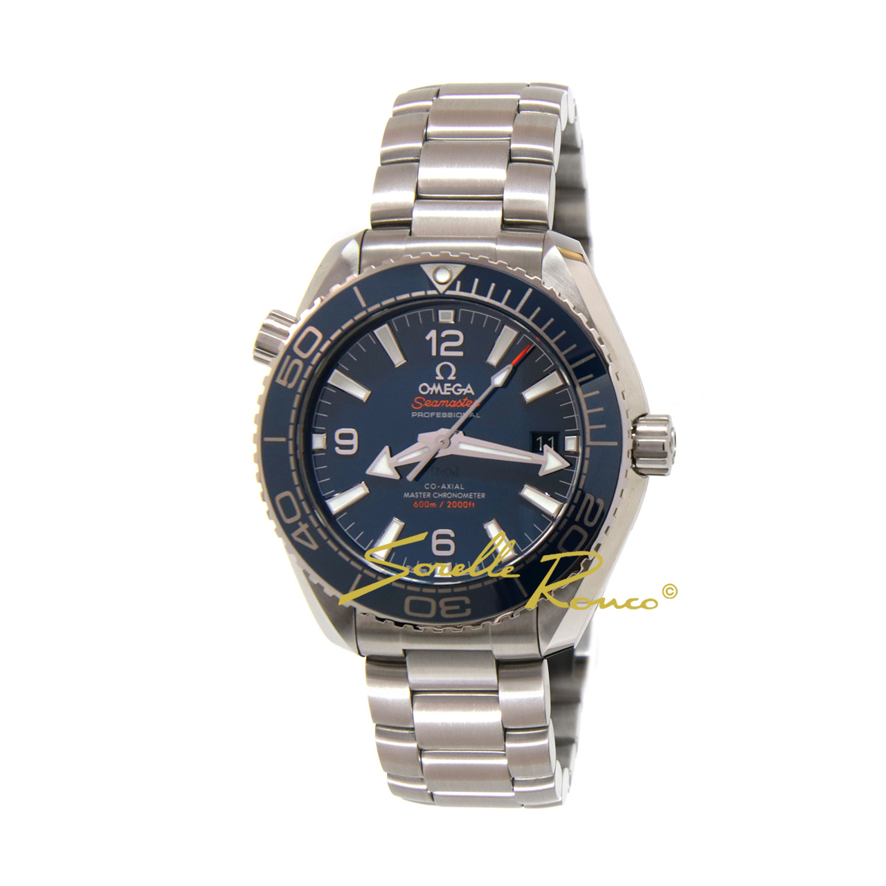 Seamaster Planet Ocean 600M CO-AXIAL 39.5mm Acciaio Blu
