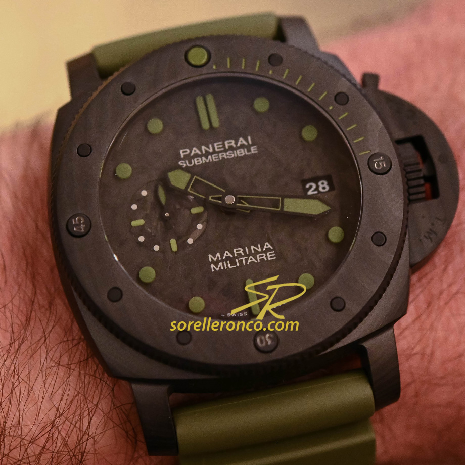Submersible Carbotech Marina Militare 47mm Limited Edition