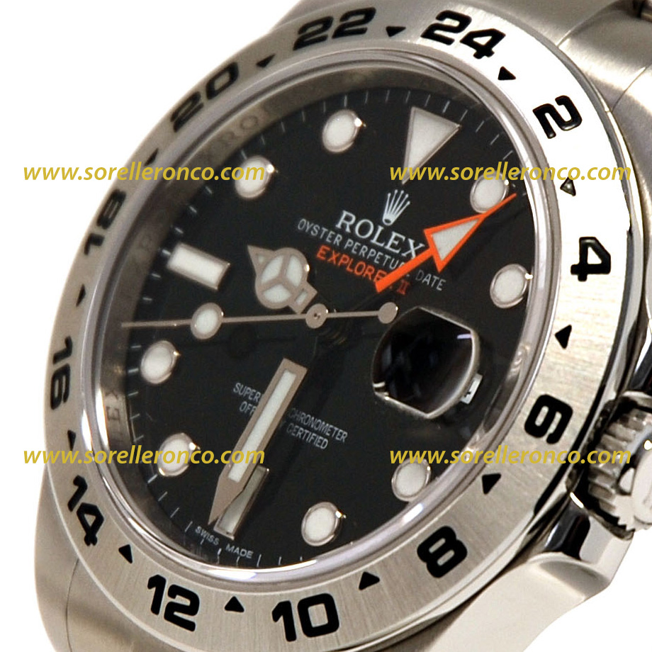 Rolex explorer ii nero freccione 216570 usato sorelle ronco for Sorelle ronco rolex