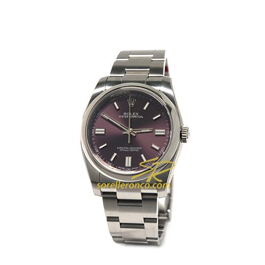 Orologio ROLEX Oyster Perpetual 36mm da donna Viola Prezzo Occasione