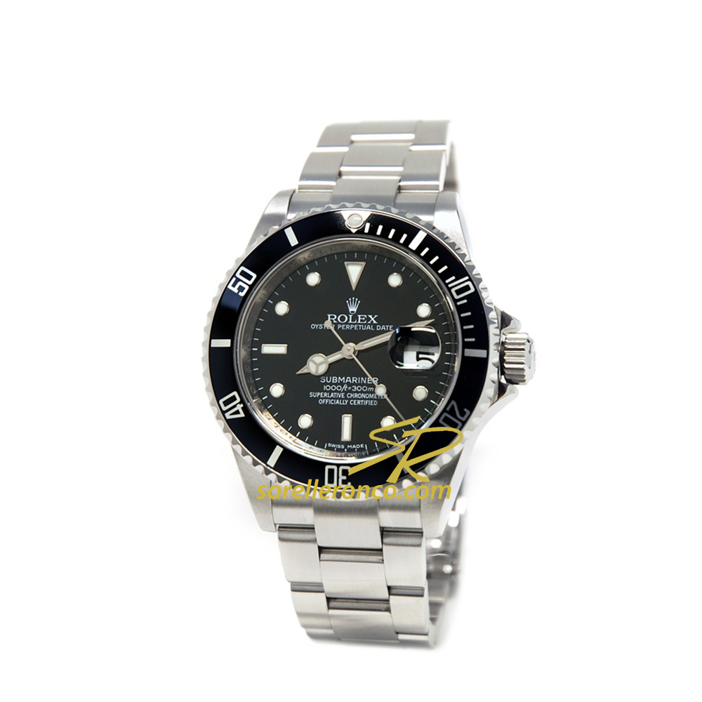 Submariner Date Ghiera Nera 40mm