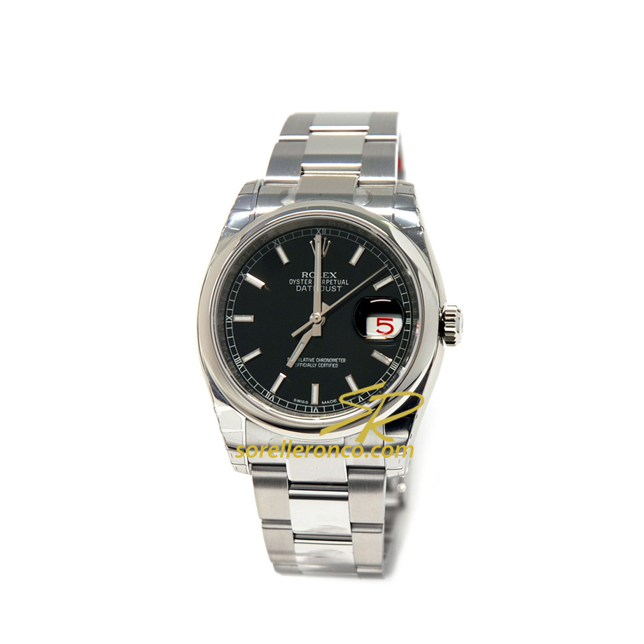 Datejust Oyster Perpetual 36mm Nero