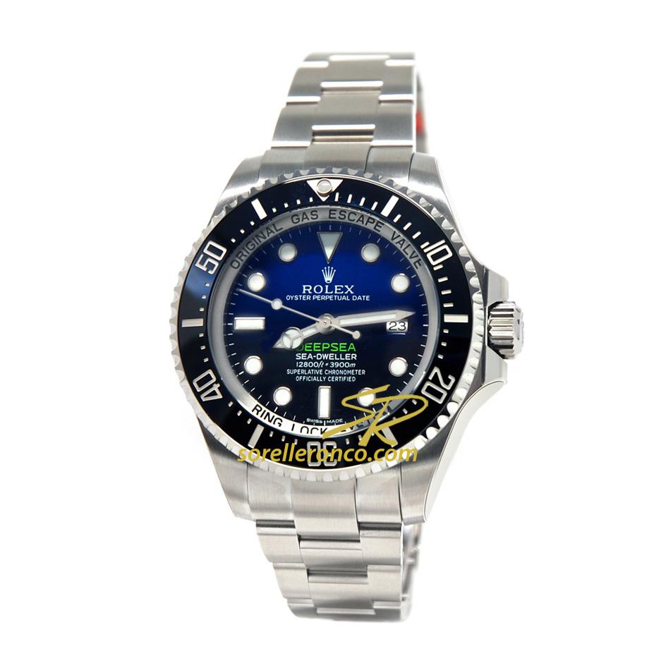 Sea-Dweller Deepsea Deep Blue 44mm