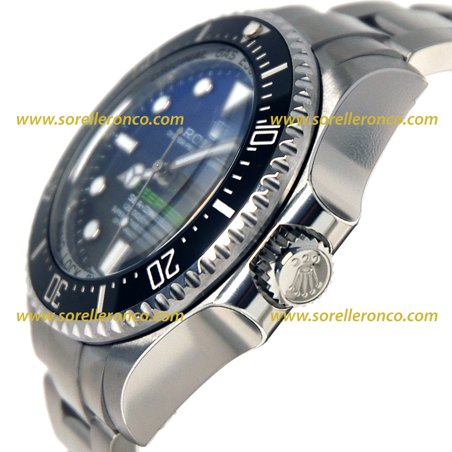 Rolex sea dweller deepsea deep blue 116660 prezzo for Sorelle ronco rolex