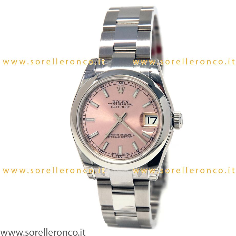 Vendita Orologio ROLEX Datejust 31mm Pink
