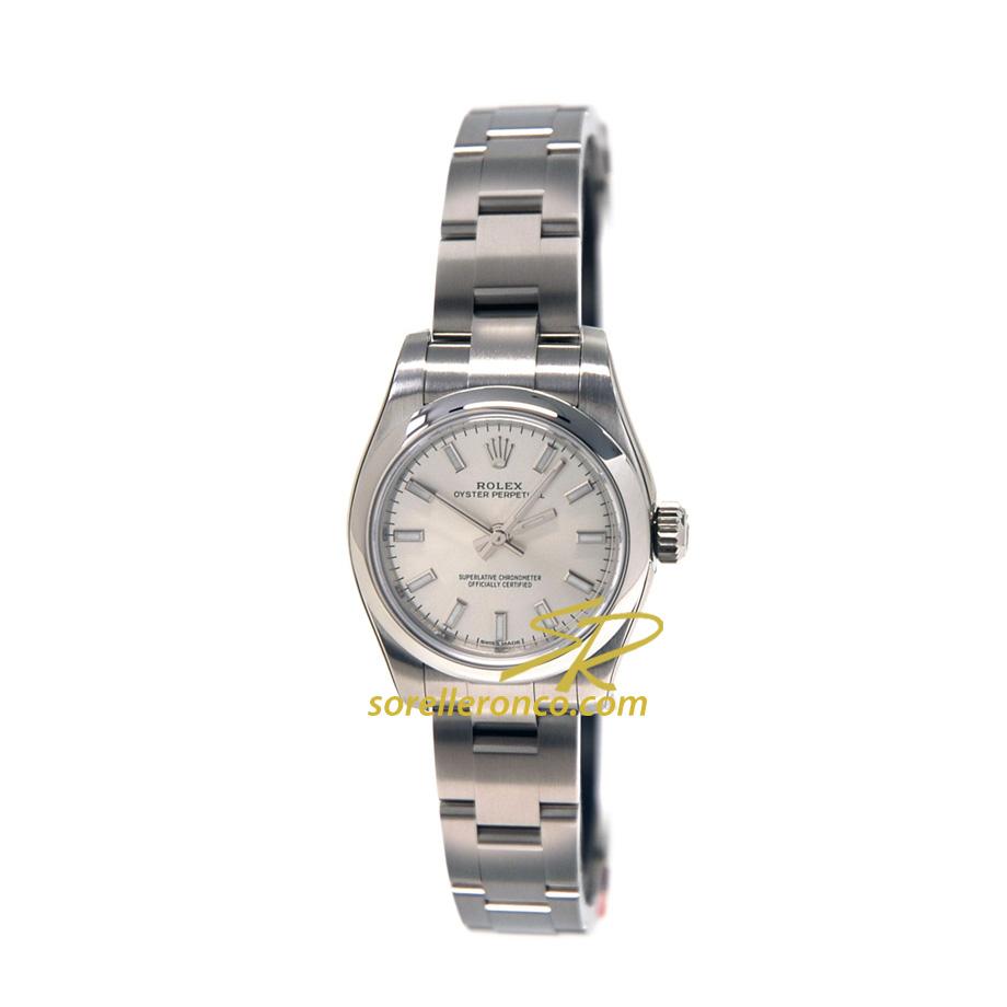 Rolex Lady Oyster 26mm silver Vendita Online