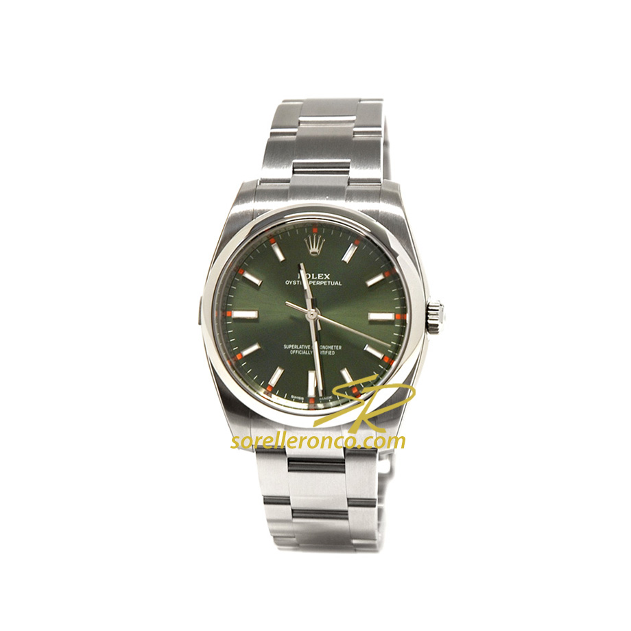 Oyster Perpetual 34mm Verde Oliva