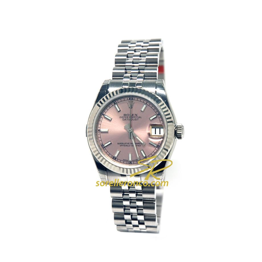 Orologio Rolex Datejust Rosa 31mm Jubilee