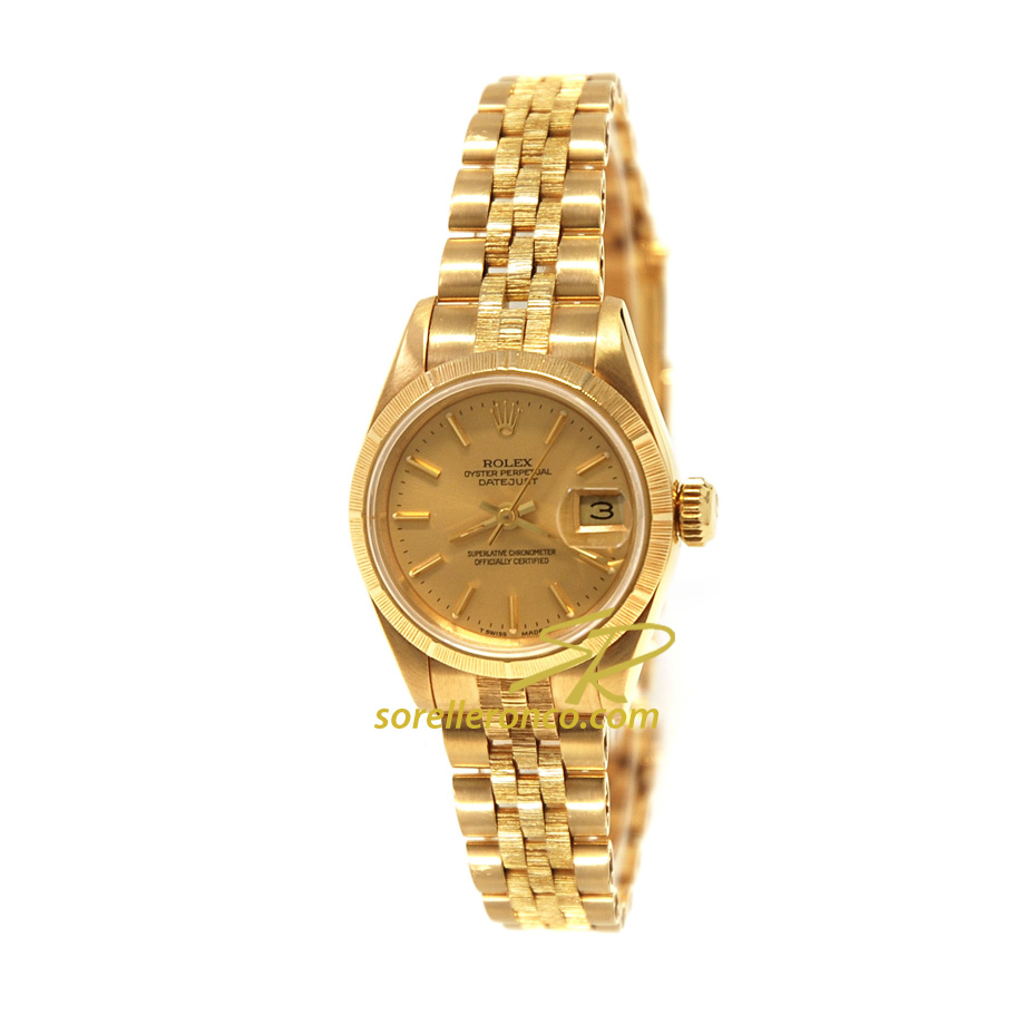 Orologio ROLEX Datejust 26mm Jubilee Oro Giallo