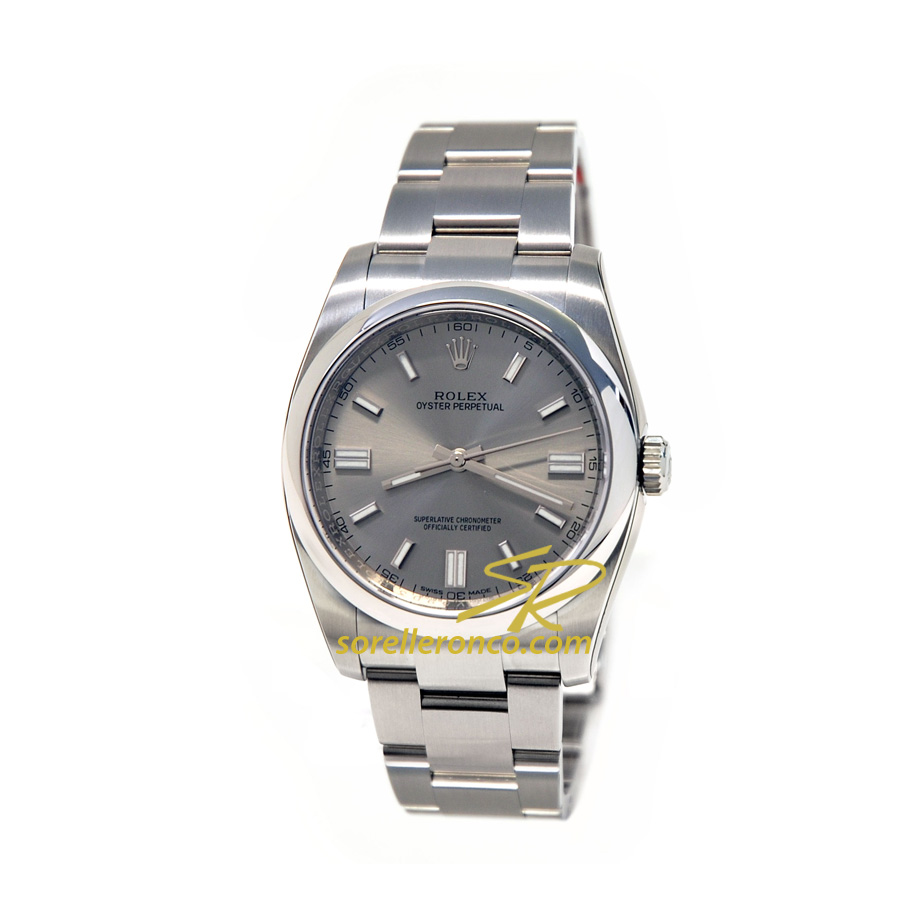 Oyster Perpetual Rodio 36mm