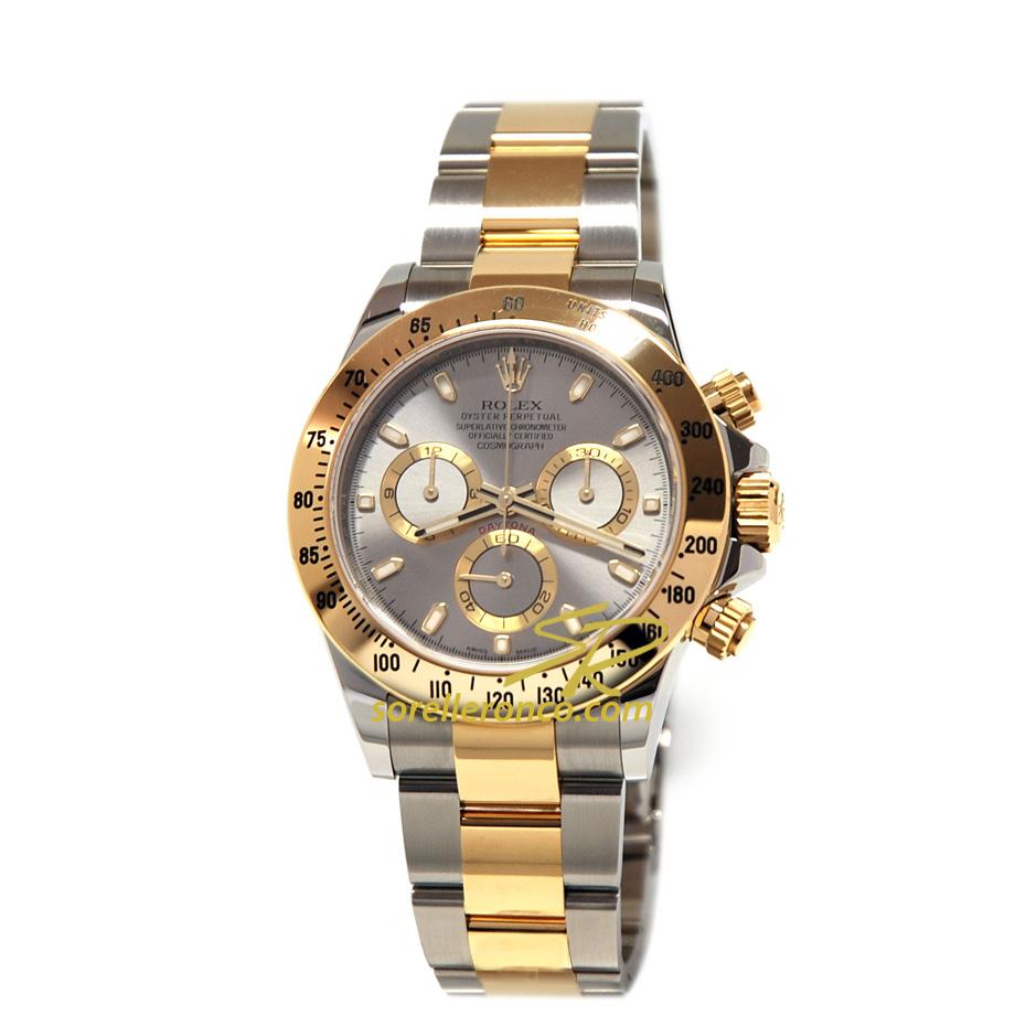 Rolex cosmograph daytona acciaio e oro 116523 prezzo for Sorelle ronco rolex