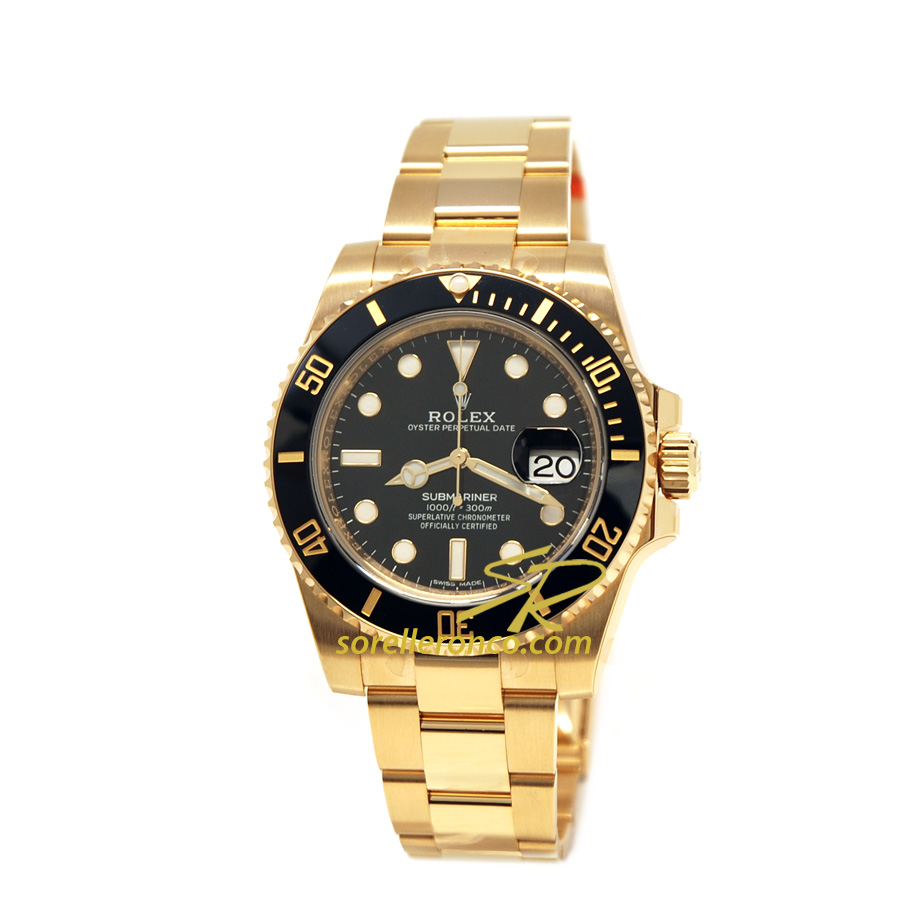 Submariner Date Oro Giallo 40mm