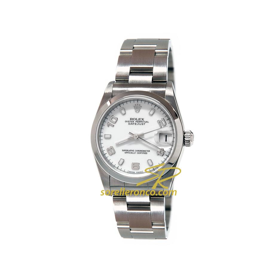 Rolex daytona cosmograph quadrante bianco 116520 offerta for Sorelle ronco rolex