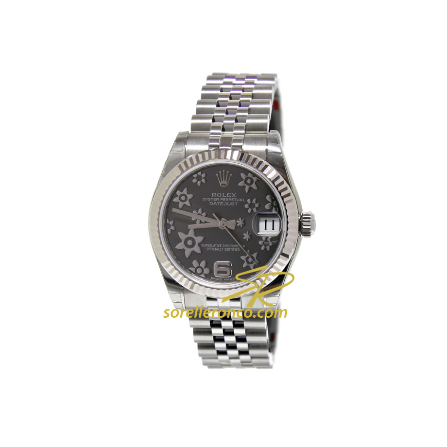 Datejust Rodio Floreale Jubilee 31mm