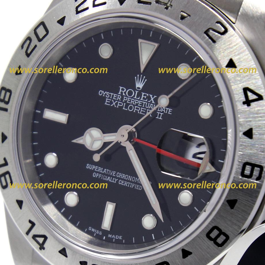 Rolex explorer ii nero 16570 usato sorelle ronco for Sorelle ronco rolex