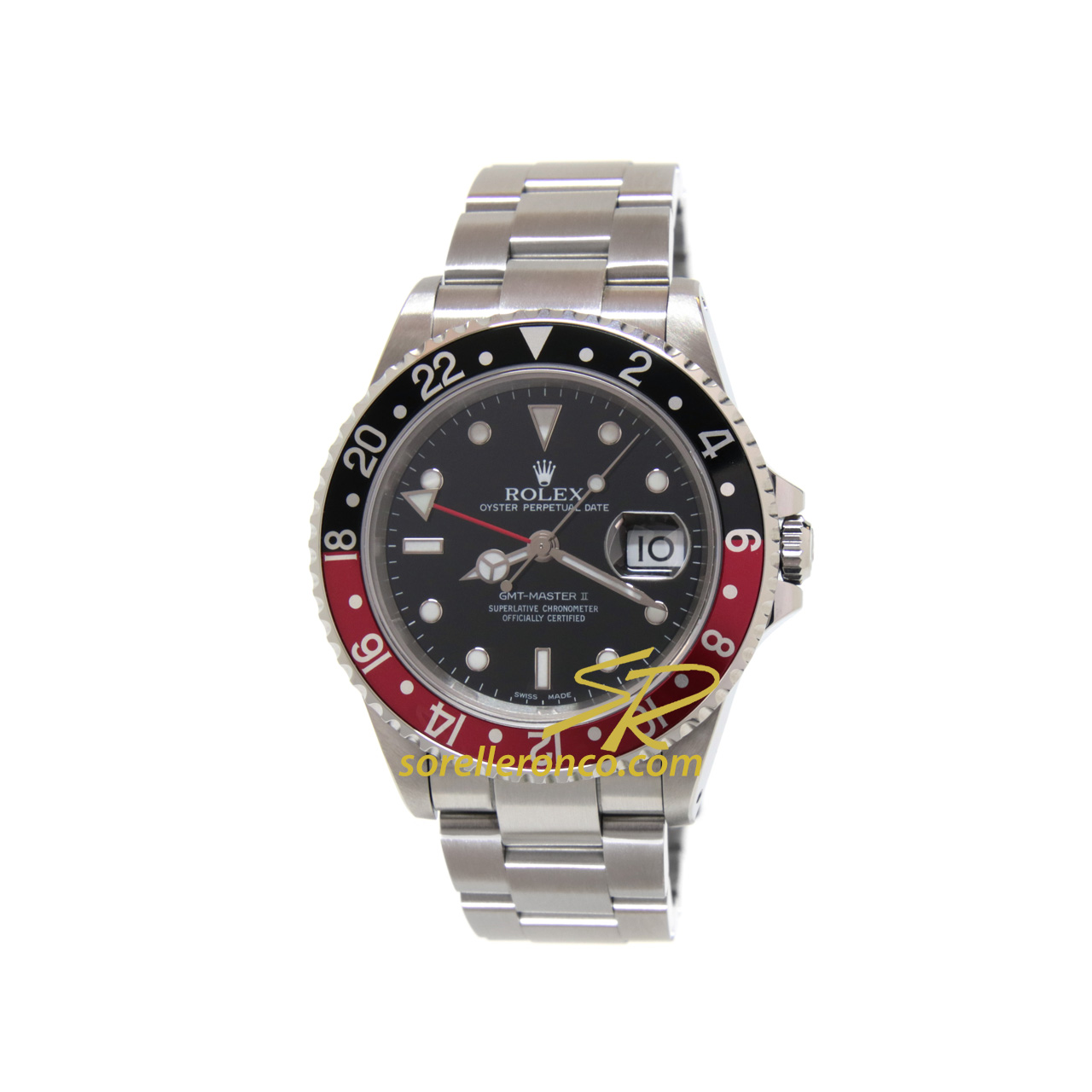 GMT Master II Coca Cola 40mm