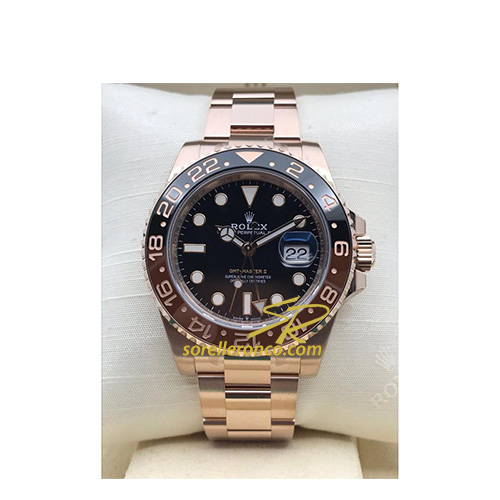 GMT Master II Everose Ghiera Marrone e Nero 40mm