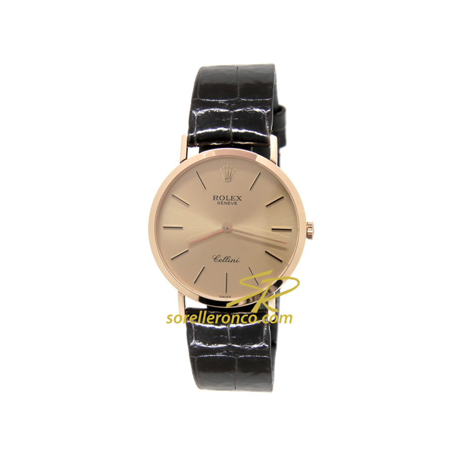 Cellini 32mm Champagne Oro Giallo