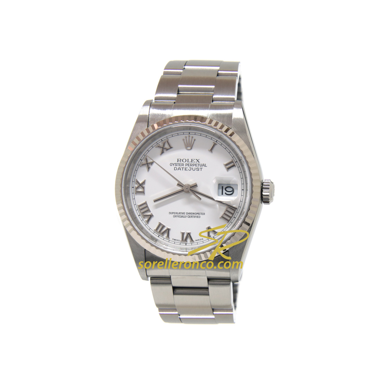 Datejust 36mm Bianco Romani