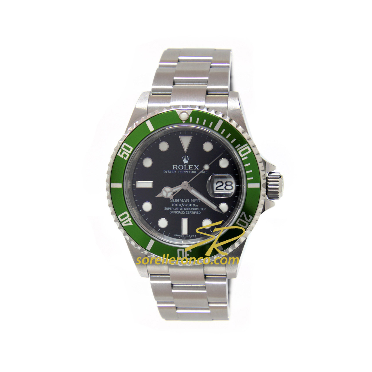 Submariner Ghiera Verde 50th Anniversary 40mm