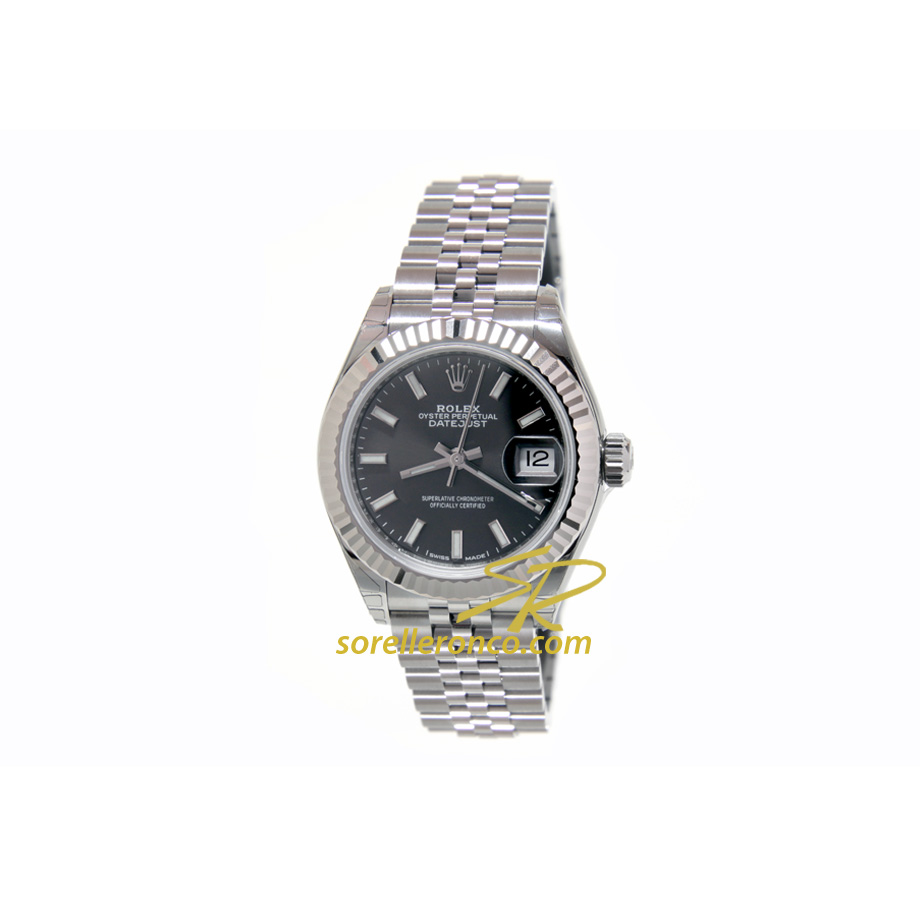 Datejust Dark Grey Jubilee 28mm