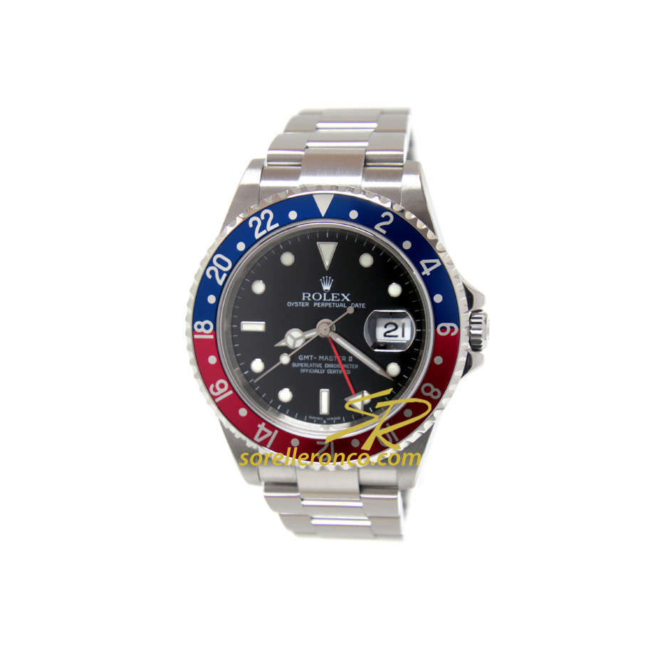GMT Master II Pepsi 40mm - COME NUOVO
