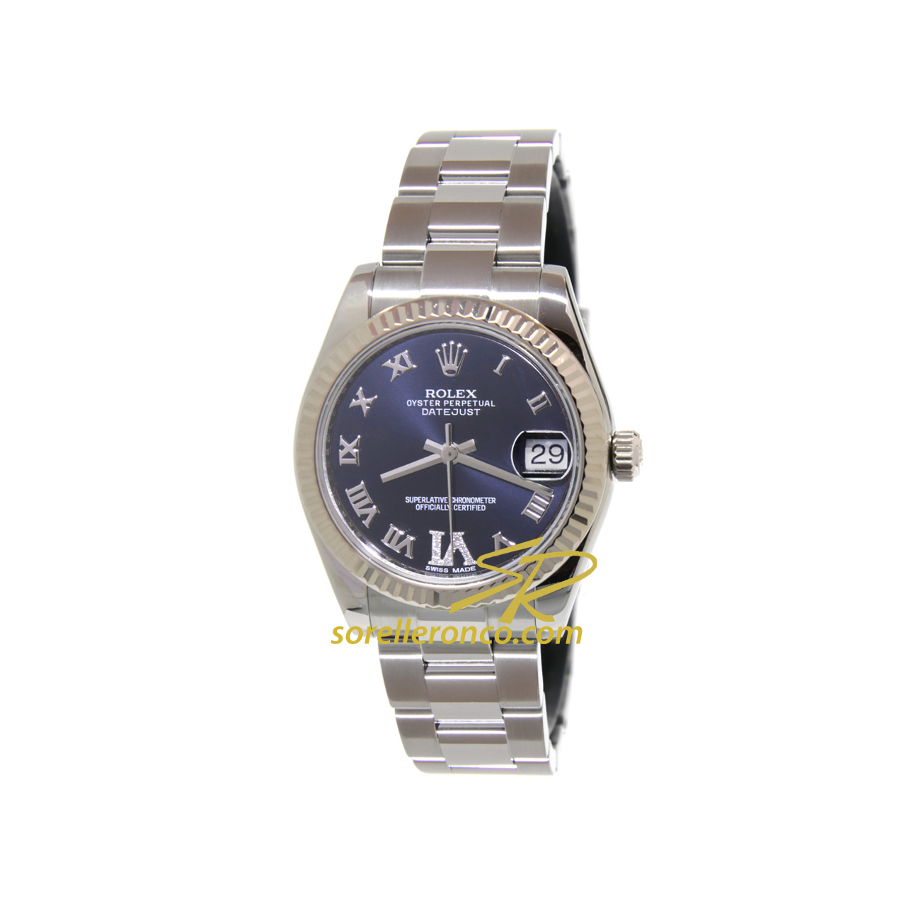 Datejust Viola Romani 31mm Diamanti