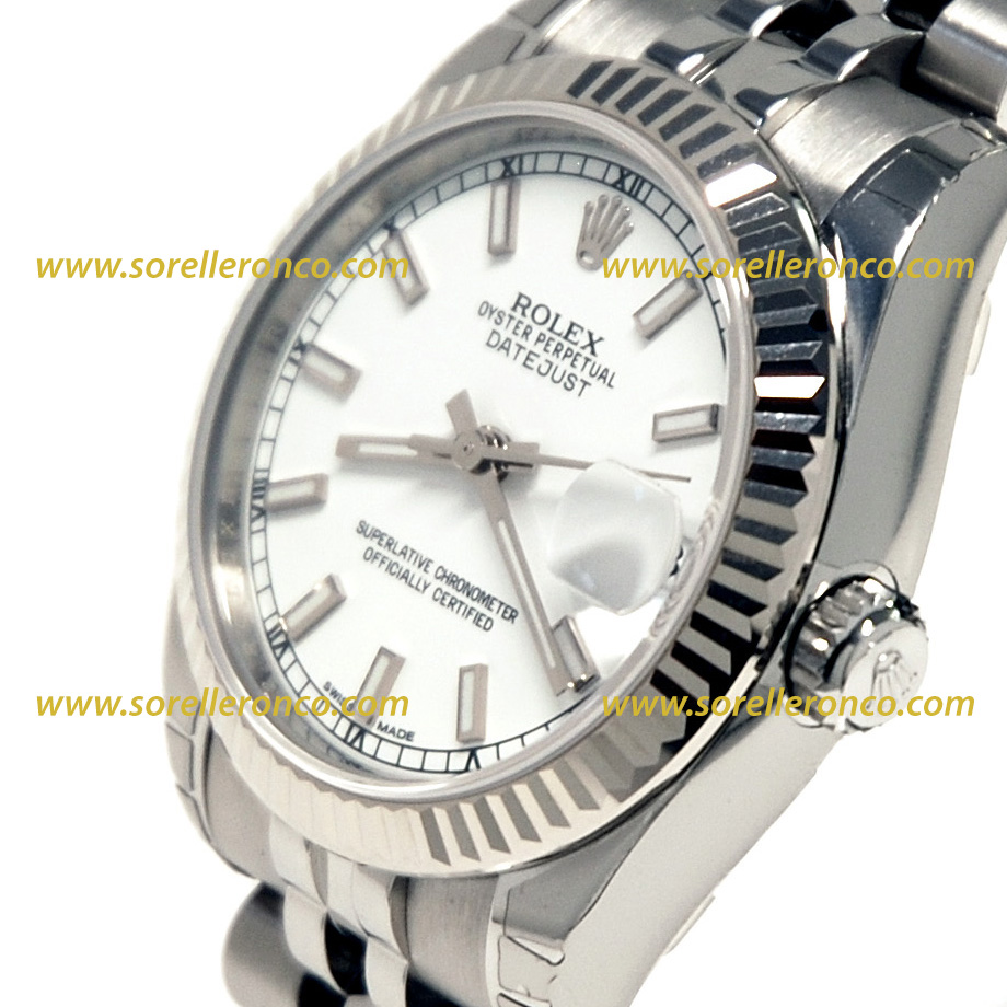 Rolex datejust 31mm 178274 nuovo sorelle ronco for Sorelle ronco rolex