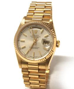 fe029e38b04 ROLEX DAY DATE 36mm in oro giallo 18238 - Vendita Orologio Usato Prezzo