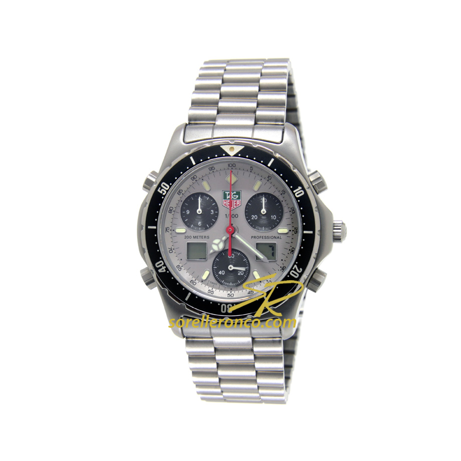 F1 Chrono Quarzo Silver 36mm