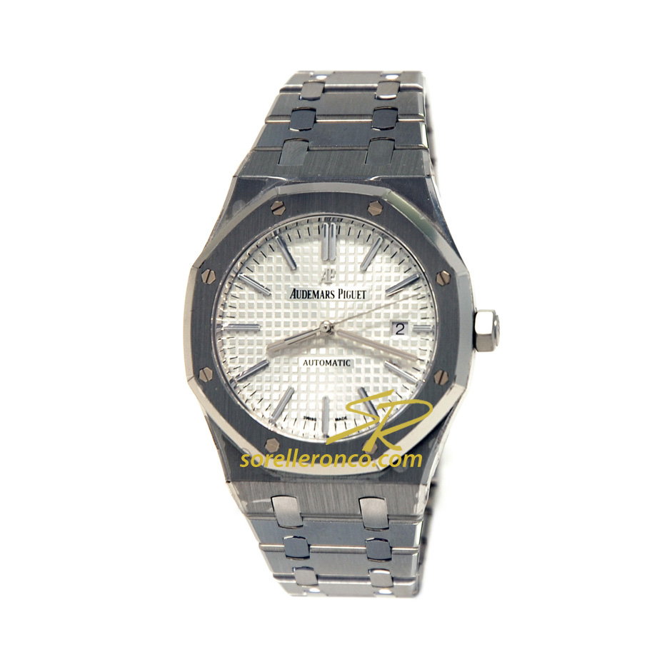 Royal Oak 15400ST 41mm BIANCO Silver