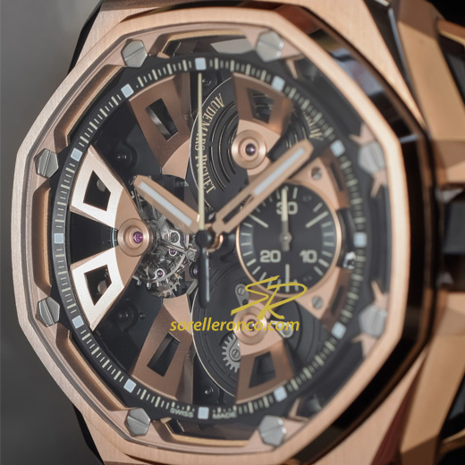 Royal Oak Offshore Tourbillon Oro Rosa 25th Anniversary