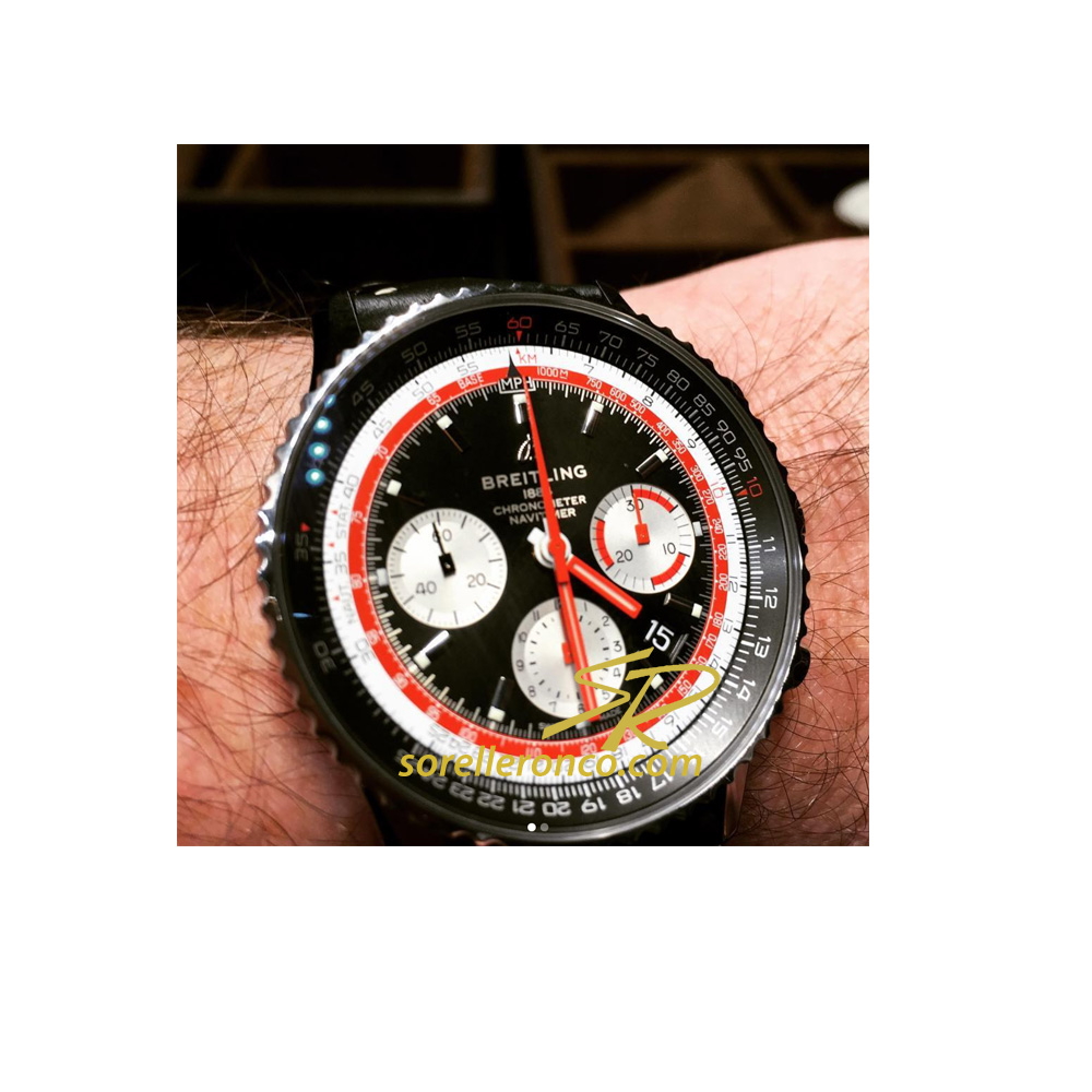 Navitimer 1 B01 Airline Edition Swissair 43mm