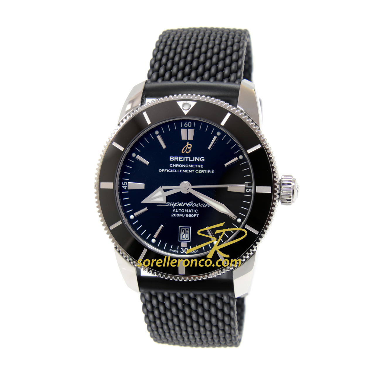 Superocean Heritage II Nero 46mm