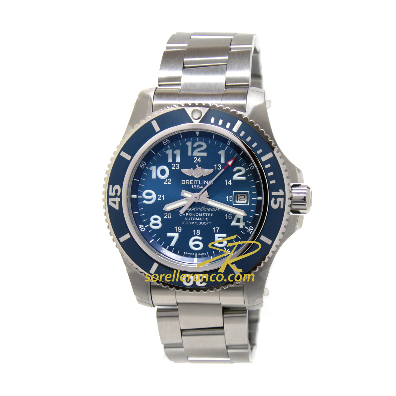 Superocean II 44mm Automatico Gun Blue