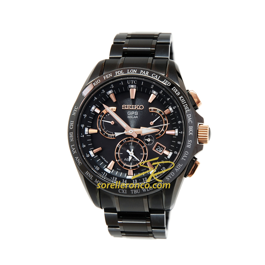 Astron Solar Gps Dual Time 45Mm