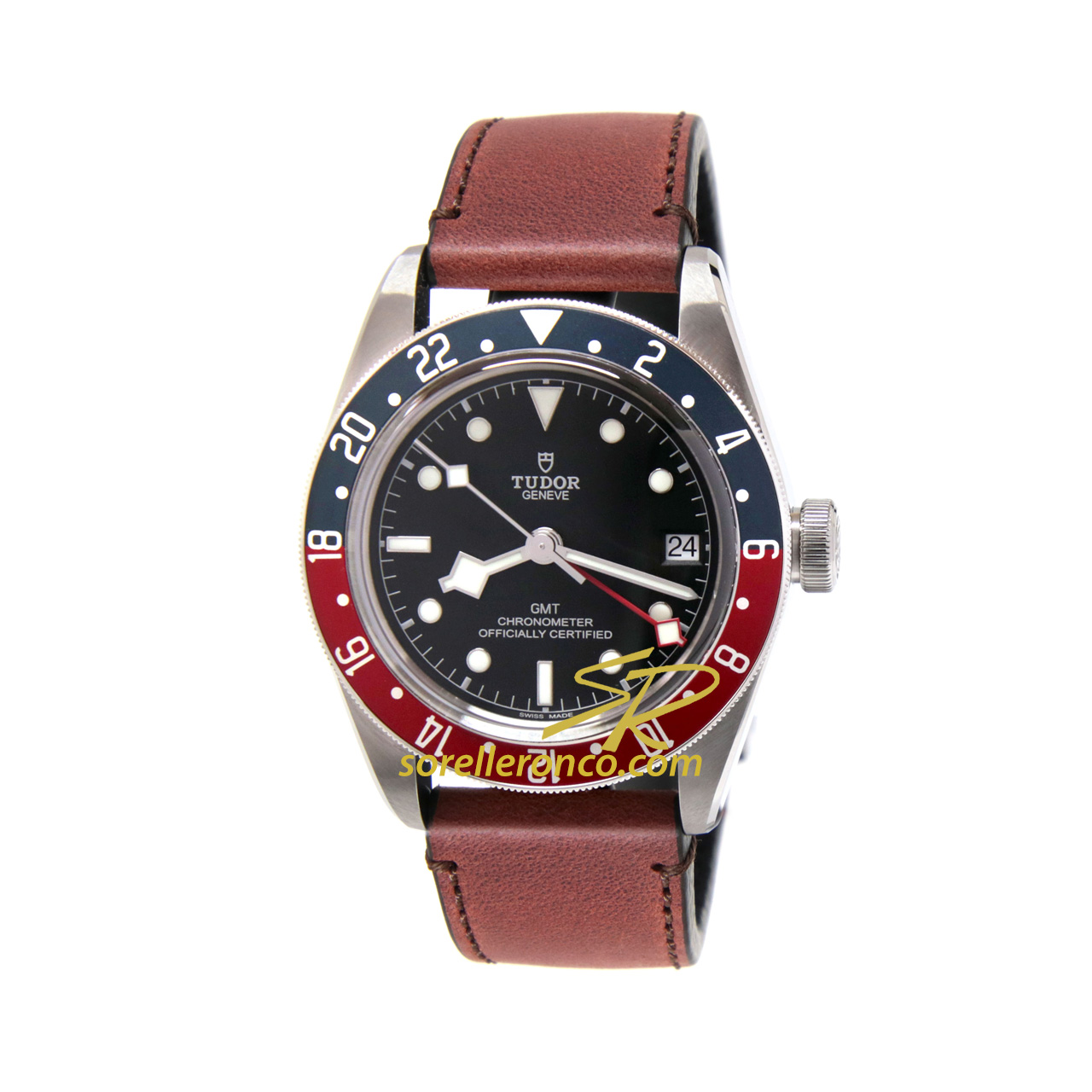 Black Bay GMT Cuoio 41mm