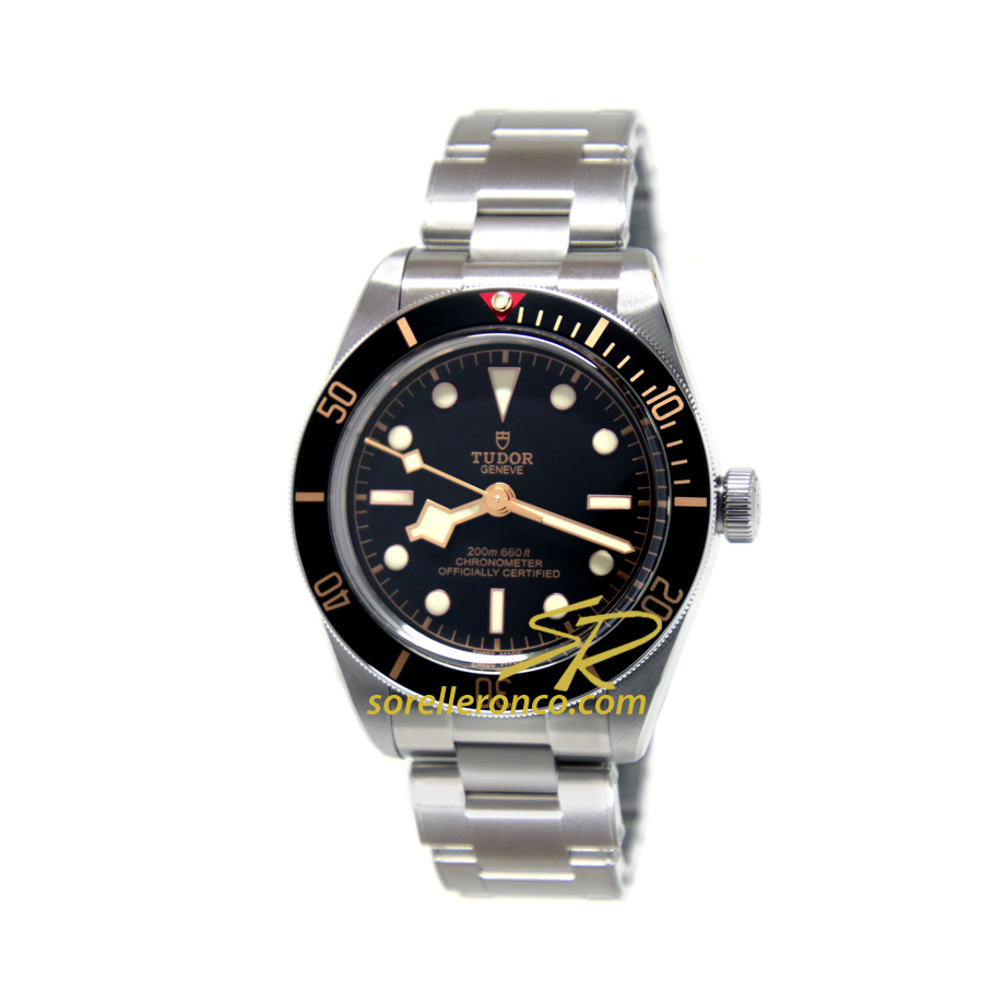 Black Bay Fifty Eight '58 Bracciale Acciaio 39mm