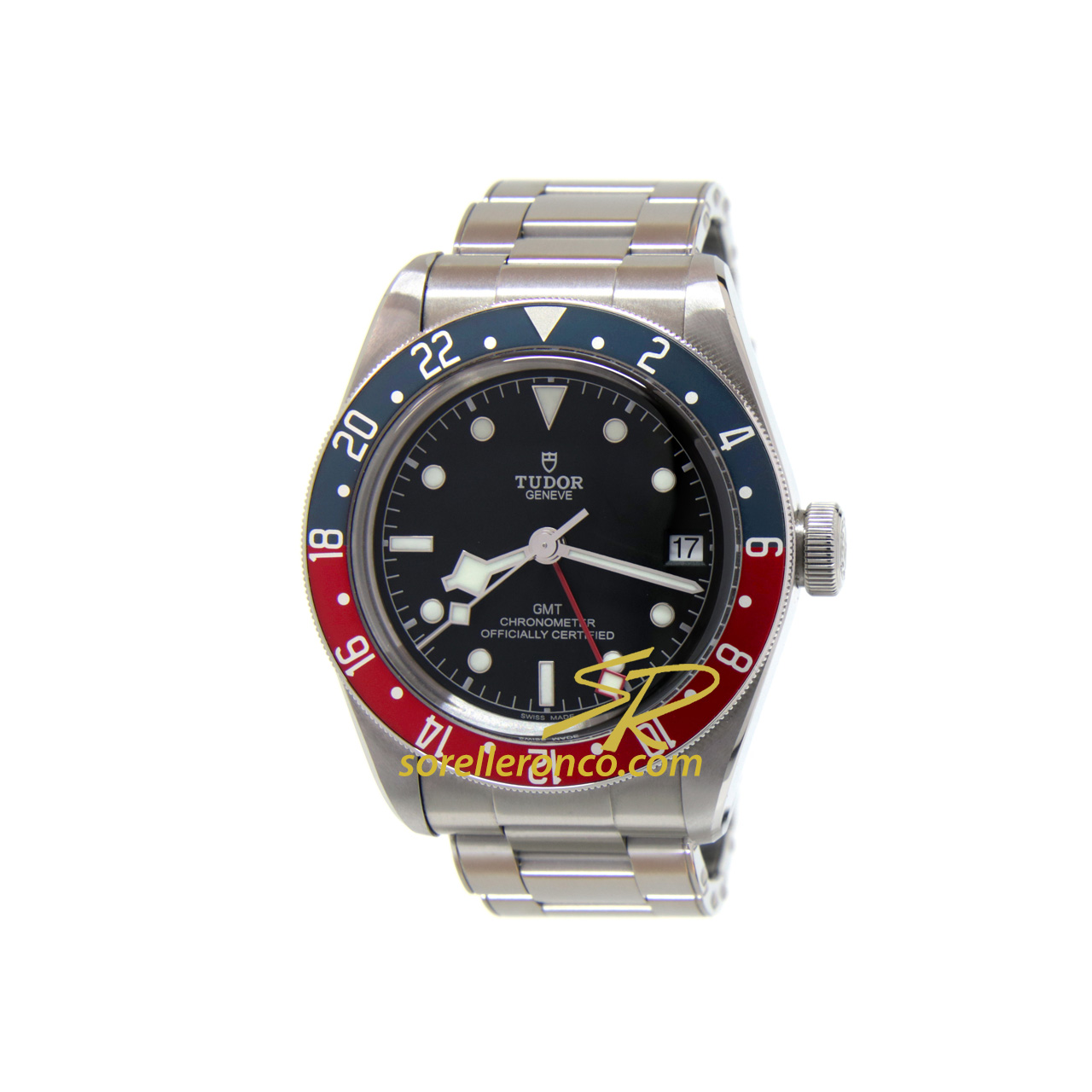Black Bay GMT Acciaio 41mm