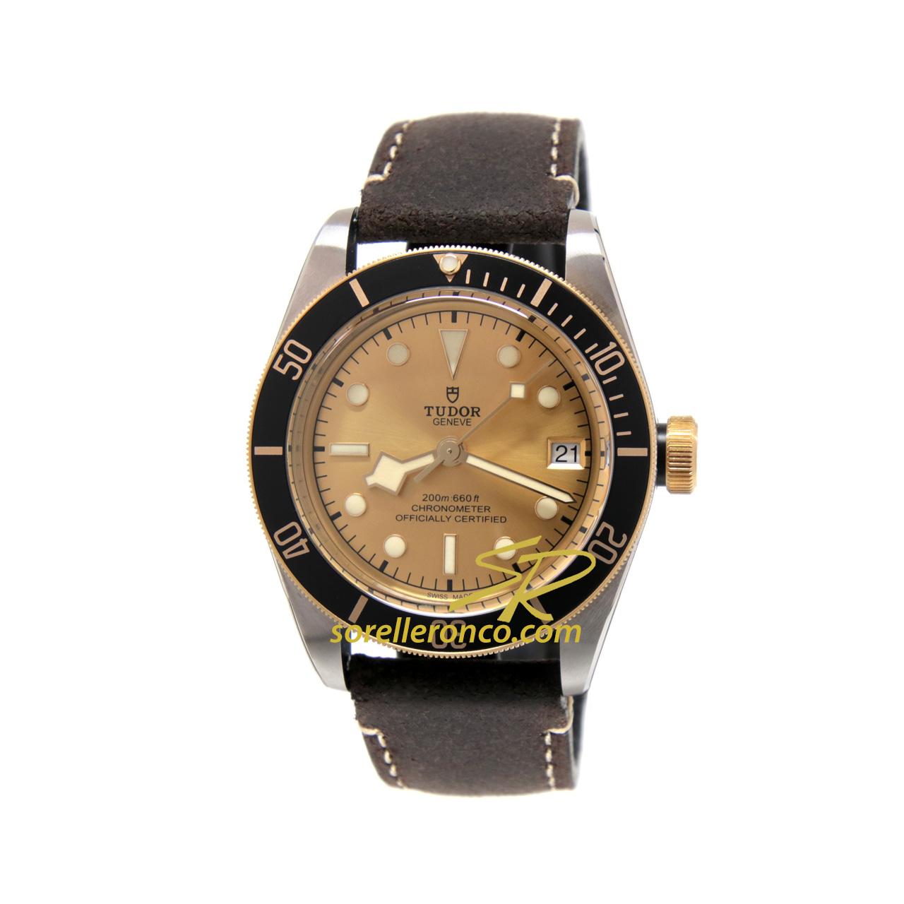 Heritage Black Bay S&G Acciaio e Oro 41mm