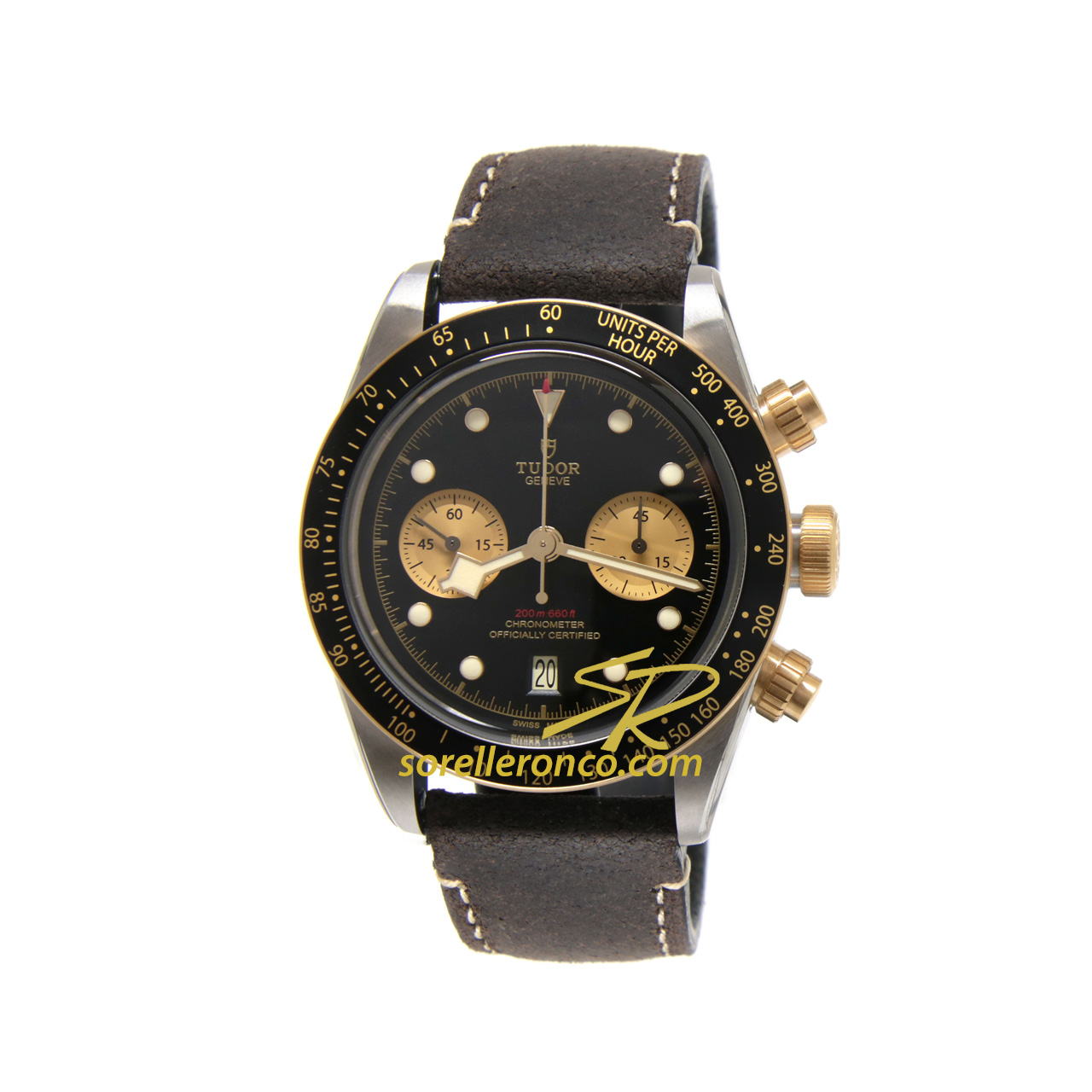 Black Bay Chrono S&G 41mm Pelle