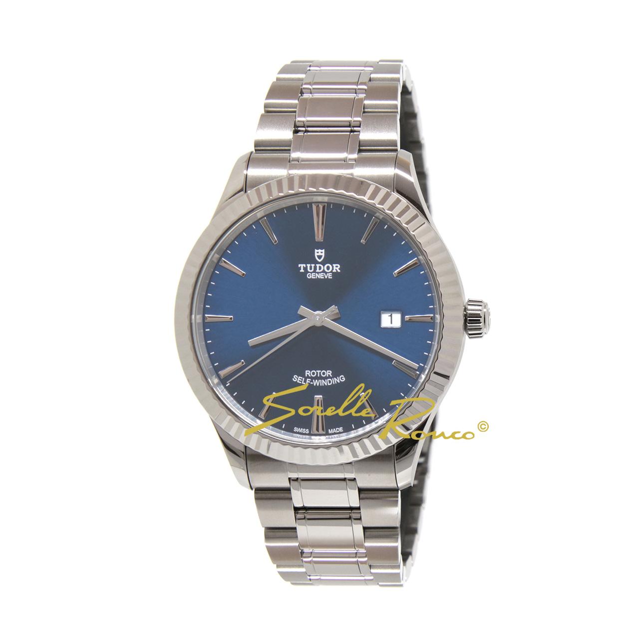 Style Date Blu Acciaio 41mm