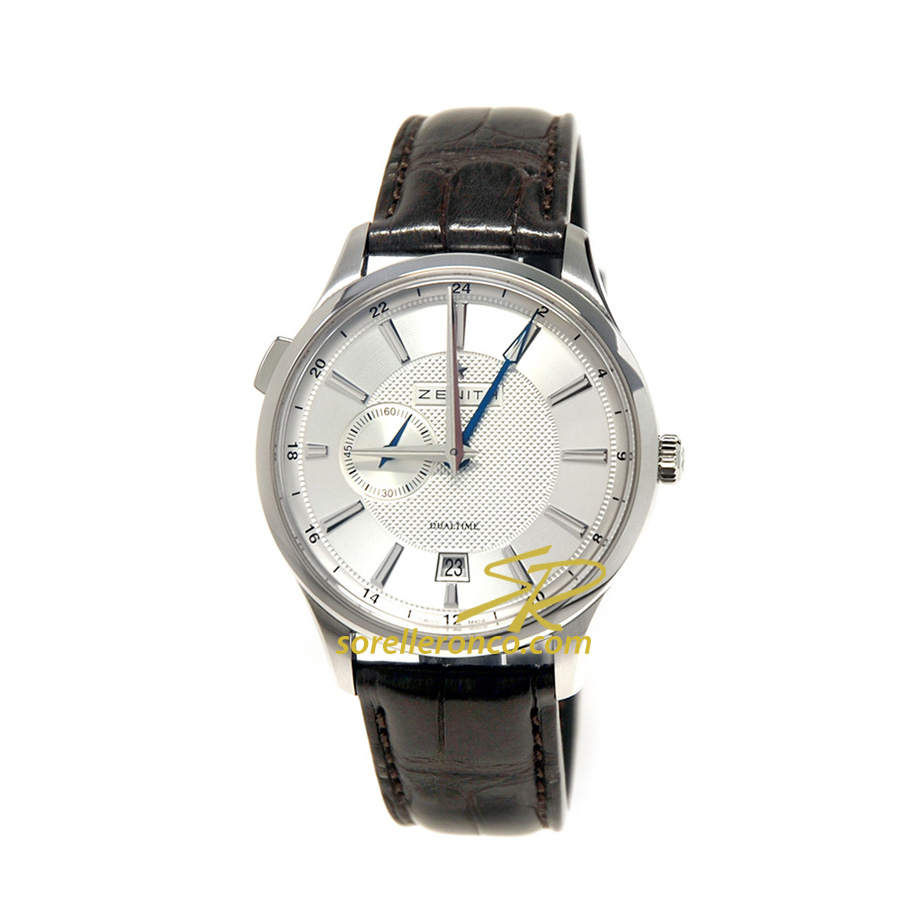 Captain Dual Time Silver 41mm
