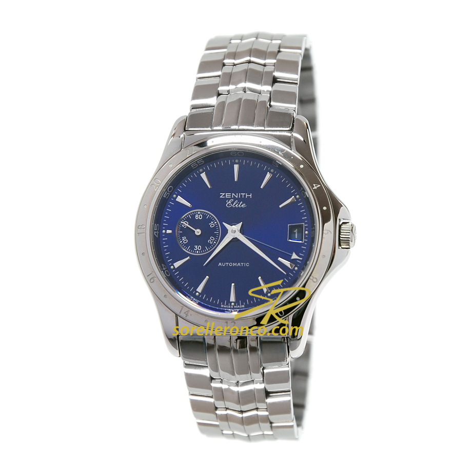 Elite Blu Automatic GMT Small Second 39mm