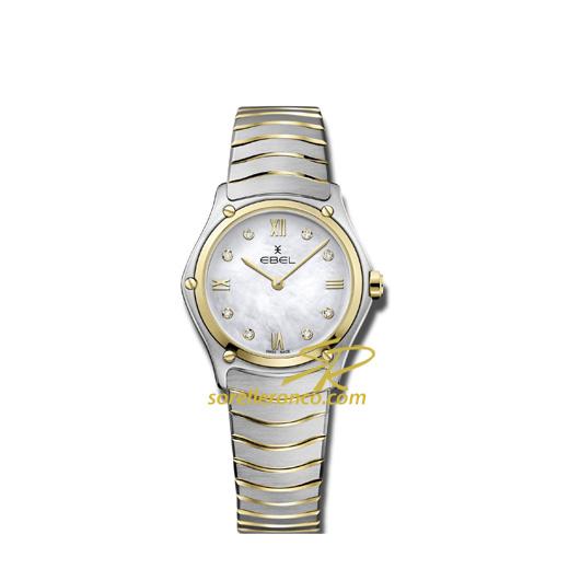 Sport Classic Lady 29mm Diamanti Acciaio e Oro